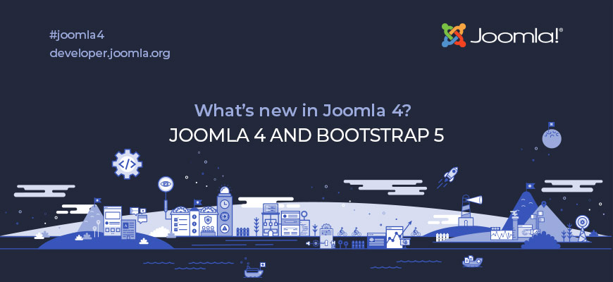 Joomla 4 and Bootstrap 5