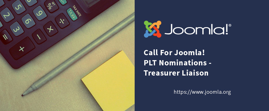 Joomla PLT Treasurer Liaison Open Position