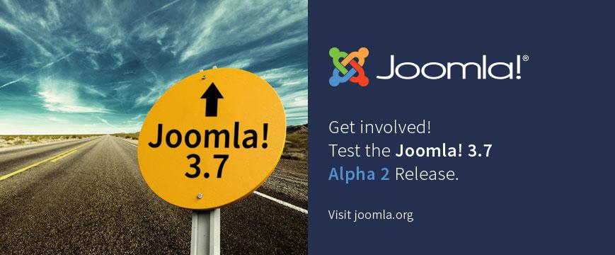 Joomla! 3.7.0 Alpha 2 released