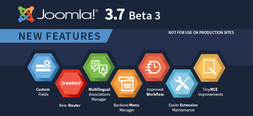 Joomla! 3.7 Beta 3 Released for Testing