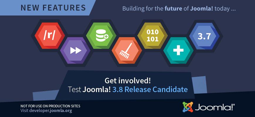 Joomla 3.8.0 Beta 1