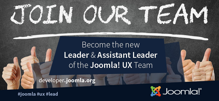 Joomla! User Experience Team