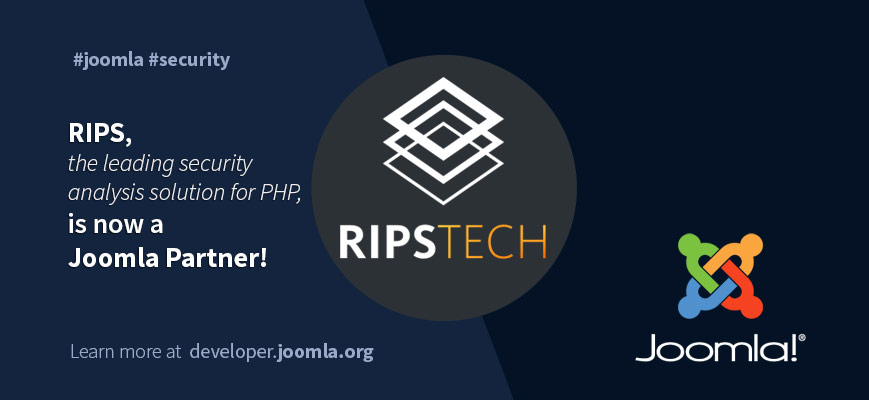 Joomla and RIPS partnership