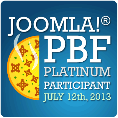 Joomla Pizza, Bugs and Fun event July 12th 2013