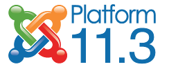 Version 11.3 of the Joomla Platform released