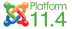 Version 11.4 of the Joomla Platform released